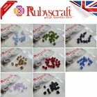 18 PIECES SWAROVSKI ELEMENTS COLOURS 5328 XILION BICONE 5MM BEADS