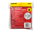 Genuine Shop Vac Style B Vacuum Bags 9066800 All Around Vac 2 to 2.5 Gallons Gal