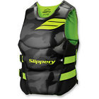 New Mens Guys Slippery Array Side Entry Neo Vest Life Vest Black Green S-2X