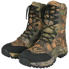 Jack Pyke Tundra Boots Waterproof Mens Hunting Footwear English Oak Camouflage