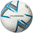 Precision Fusion Training Ball White/Cyan Blue/Black