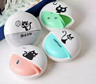 Cute Cate Earphone with storage case box 3.5mm headphones Fashion candy Color