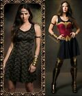 New Licensed Her Universe DC Comics WONDER WOMAN Armor And Logo REVERSIBLE Dress