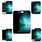 hard durable case cover for most mobile phones - blue water