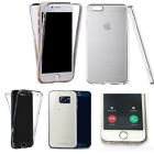360° Silicone gel full body Case Cover for many mobiles -design ref zq250 clear
