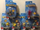 Tomy POKEMON SUN & MOON Single 2in Mini Action Figure NEW Posed for Battle
