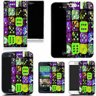 gel case cover for most Mobile phones - multi dice silicone