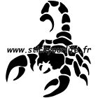 SCORPION 2 sticker autocollant voiture tuning tribal tatoo deco porte chambre fr
