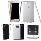 360° Silicone gel shockproof case cover for most mobiles -design ref zq408 clear