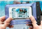 Waterproof Underwater Phone Pouch Bag Pack Case Cover For Cell iPhone Samsung ^
