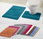 New Style Hawaii 2 Piece Bath Mat & Pedestal Set Non Slip Bathroom Set