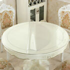 1mm PVC Clear Tablecloth Waterproof Table Protector Kitchen Dining Room Decor