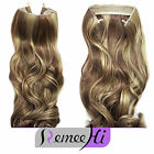 Hidden a Halo Invisible Wire Flip In 100% Remy Human hair extension Secret 120G