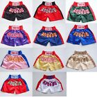 Muay Thailand Boxing Shorts for Training and Sparring Boxing Trunks Martial Arts