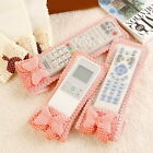 Graceful Bow Braided TV Air Conditioner Remote Controller Dust Proof Cover