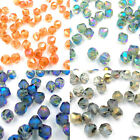 6mm  CHINESE CRYSTAL BICONES various Colours -  A037