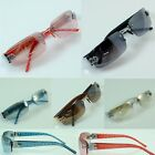 Wholesale lot Women's DG Eyewear Rimless Small Tint Shades Designer Sunglasses