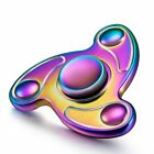 New Rainbow Aluminium Metal Fidget Spinner Stress Focus EDC Hand Spin Finger Toy