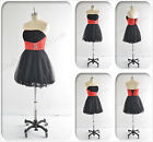 2017 New Arrivals Black Short Prom Dress Ball Gown Cocktail Party Dress 9043#