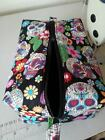 TOILETRY BAG SUGAR SKULL ANIMALS RETRO GEEK FUNKY MENS UNISEX MAKE UP NEW GOTHIC