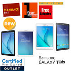 Samsung Galaxy Tab E 8.0in or 9.6in 16GB Black/White Wi-Fi +4G Tablet|Warranty