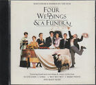 Four Weddings & A Funeral Film Soundtrack CD Elton John Sting Squeeze FASTPOST