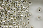Sterling Silver 6mm Seamless Round Spacer Beads, Choice of Lot Size & Price