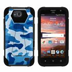 For ZTE Majesty Pro (2017) Hybrid Dual Layer Armor Case - Unique Designs