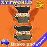 FRONT REAR Brake Pads for YAMAHA TT 600 R 5CH3 2000 2001 2002
