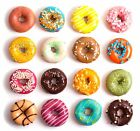 Doughnuts Printed Glass Splashback, Kitchen ~ Choose your size!!!