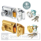 Nightlatch QUALITY Traditional front door lock Cylinder Gold Champagne/Chrome