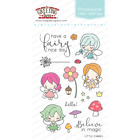 LITTLE FAIRIES Stamps/Dies Set-The Greeting Farm-Stamping Craft-Mini Anya Fairy