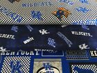 KENTUCKY WILDCATS COTTON FABRIC BTY 4 New Prints Sykel Enterprises
