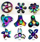 Hand Spinner Fidget Spinner High Speed Focus Spielzeug Rainbow Colors Titanium