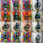 Head of Skull Mandala Curtains Style Center Pattern Human Curtain 2 Panels Set
