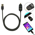 Micro USB Voltage Current Smart LED Display Sync Fast Charging Cable for Android