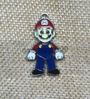 Lot Super Mario Bros Enamel Metal Charms Pendant Jewelry Making Party Gifts G502