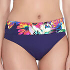 Fantasie Swimwear Cayman Classic Fold Brief Bikini Brief/Bottoms Multi 6186 NEW