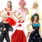 Grease Ladies Fancy Dress 1950s Musical Film Rock n Roll Womens Adults Costumes