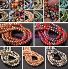 Wholesale 4mm Opaque Round Crystal Glass Loose Spacer Beads Lot Bulk Jewelry DIY