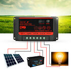 Dual USB 10A20A30A 12V/24V Solar Panels Battery Charge Controller Regulator New
