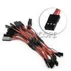 1/10PCS 150mm Servo RC Y Style Male to Female JR Wire Cord Extension Lead Cable