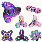 Fidget Spinner Rainbow Metal Hand Spinner EDC Fingertip Gyro Anti Stress Toy il