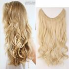 "16""-24"" Body Wave Miracle  Invisible Wire Headband Human Hair Extension 100g"