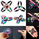 Rainbow Alloy Figet Spinner Hand Toy Spinner EDC Fidget Spinner Autism ADHD TXWD