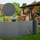 PVC Screening Fence Slat Fencing Garden Privacy Screen Roll Outdoor Wind Panel