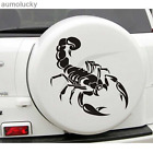 Scorpion Car Hood Decals Modified Front Rear Bumper Scratch Marks Stickers