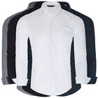 Men's Stylish & Slim Fit  Casual Shirts Long Sleeve Cotton Collared Shirt Tops