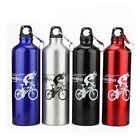 750ml Aluminium Bicycle Water Bottle Cycling Bike Camping Drink Sports New