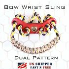 Bow Wrist Sling - Dual Pattern - Bling Paracord - 6 Color Combos